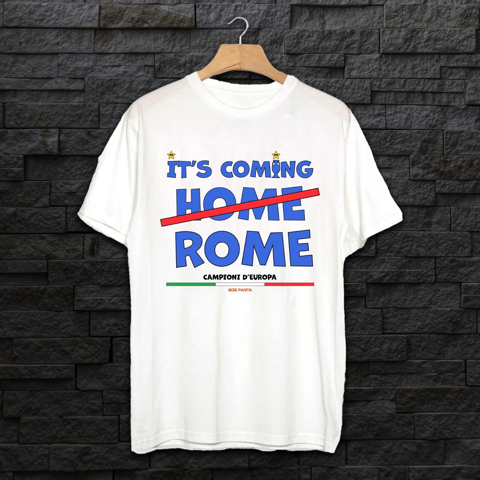 Due maglie celebrative per il trionfo dell'Italia agli Europei: acquistale qui!