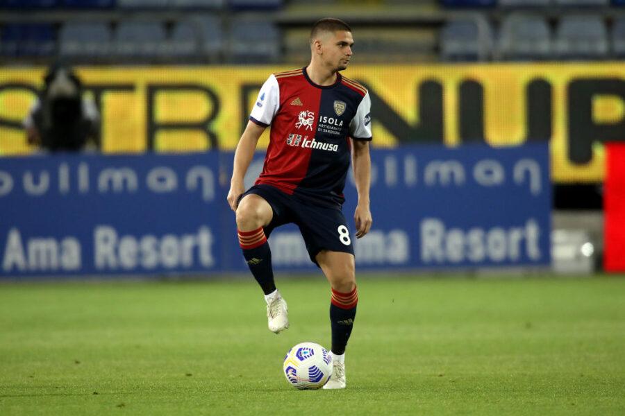 Cagliari, 3-0 al Vicenza: Marin brilla, segna Pavoletti e il modulo è ormai chiaro