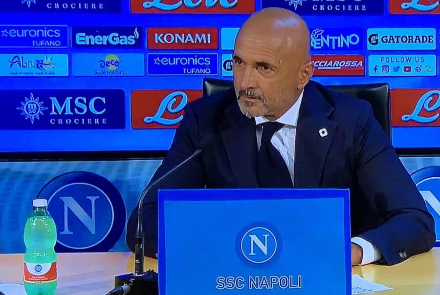 """Spalletti: """"Zielinski si sta allenando poco ma sta dando segnali positivi"""""""