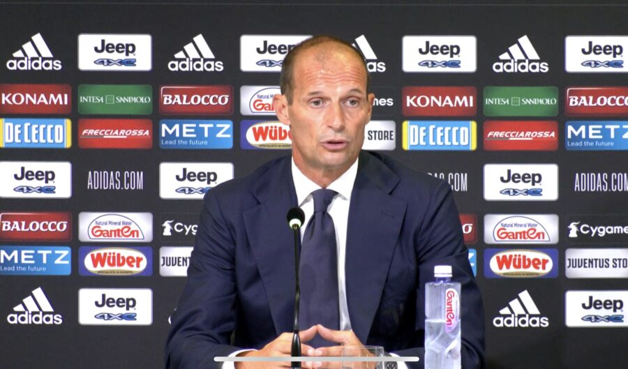 """Allegri: """"Cosa ho detto a Ronaldo e Dybala! No al Real per la Juve, Kulusevski, punizioni e Rabiot…"""""""