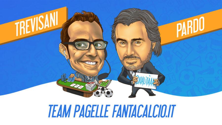 Novità nelle Leghe Fantacalcio: Trevisani e Pardo daranno i voti! Ecco il team pagelle con l'analista