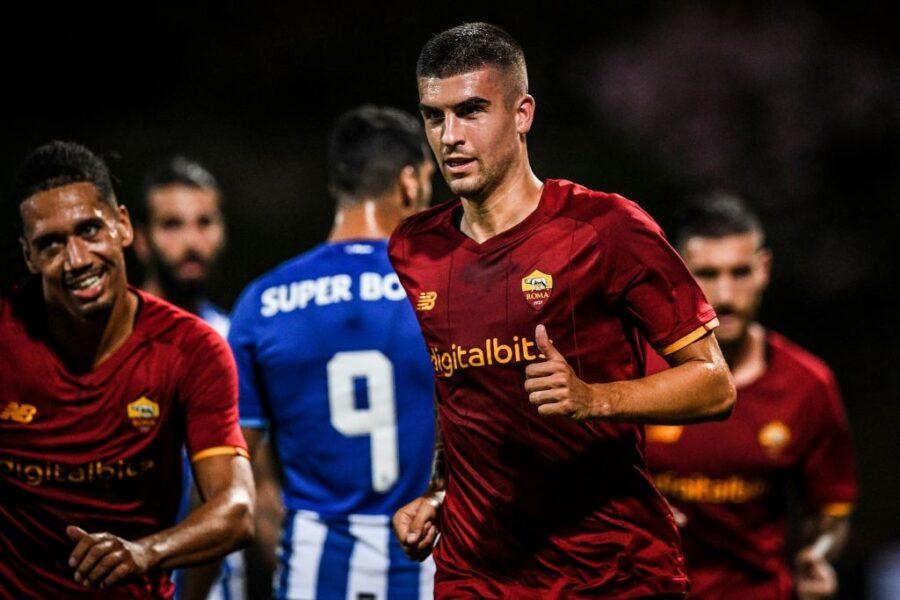 Roma, Mancini fa gol ed è 1-1 con il Porto: ecco i voti con Rui Patricio che spicca