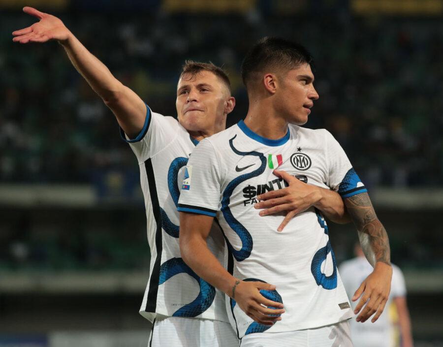 """Inter, Sky: """"Inzaghi sorride, Barella in gruppo. Le ultime su Correa, Vidal e Sensi"""""""