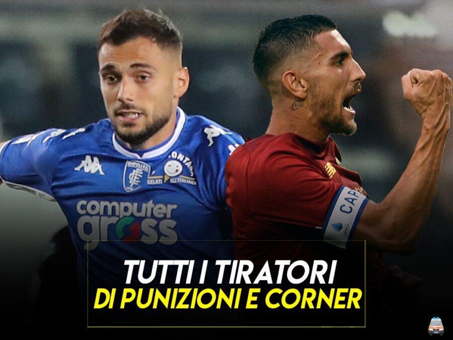 Chi tira punizioni e corner in Serie A: squadra per squadra, ecco gli specialisti e le novità