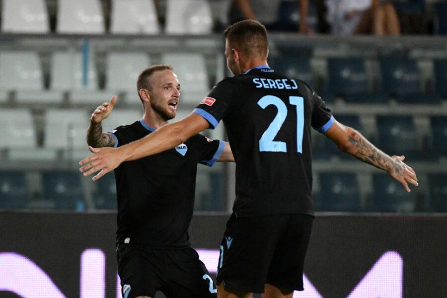 Lazio, da Lazzari e Luis Alberto al tridente: la formazione provata per il derby