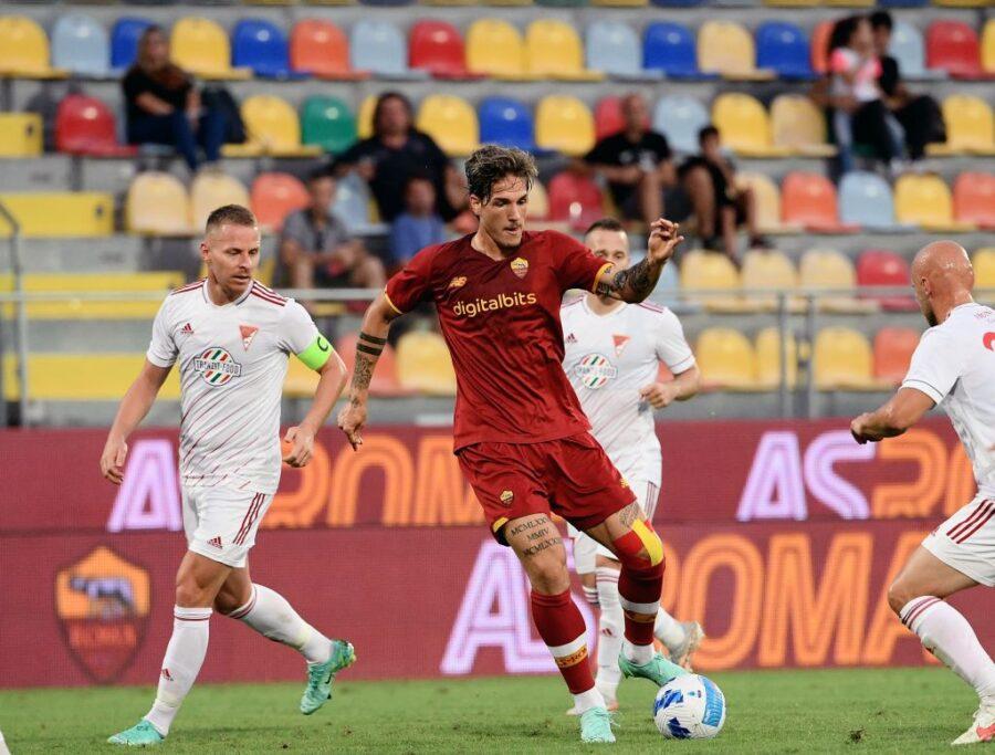 Zaniolo, Pellegrini, Mancini, Abraham e Smalling: tutto sulla formazione della Roma