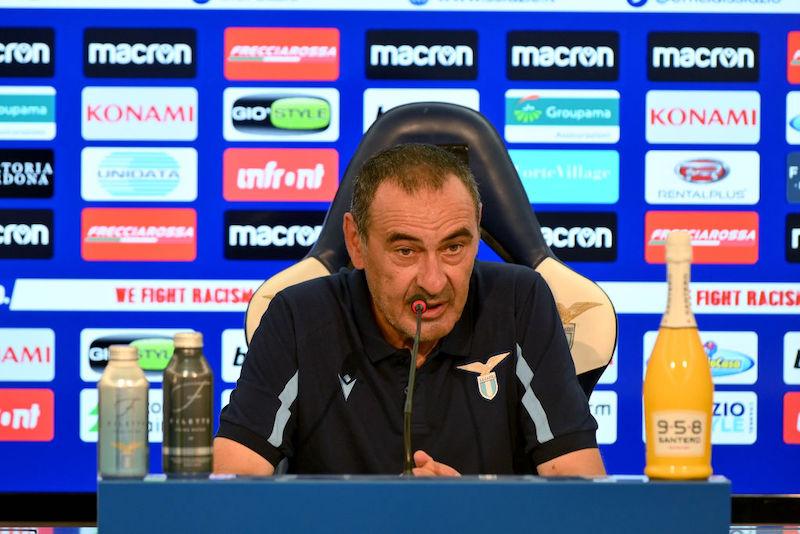 """Sarri: """"Vi dico tutto su Luis Alberto, lo vedo così! Come sta Luiz Felipe, Basic e il modulo…"""""""