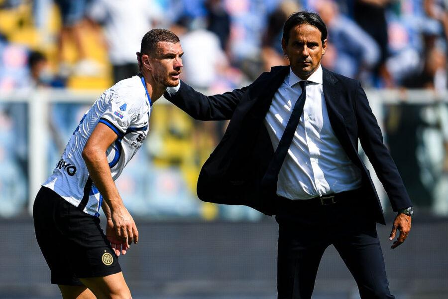 Inter, delineata la formazione anti-Fiorentina: dagli esterni a Calhanoglu e Dzeko