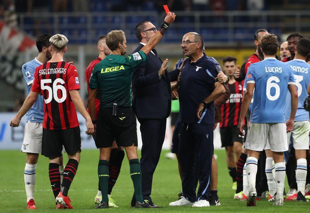 Lazio, la decisione sulla squalifica di Sarri: c'è la stangata, il motivo