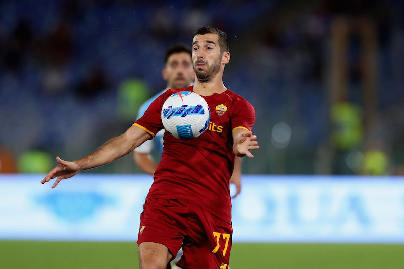 Roma, anche Mkhitaryan in dubbio per Verona: ha un affaticamento muscolare