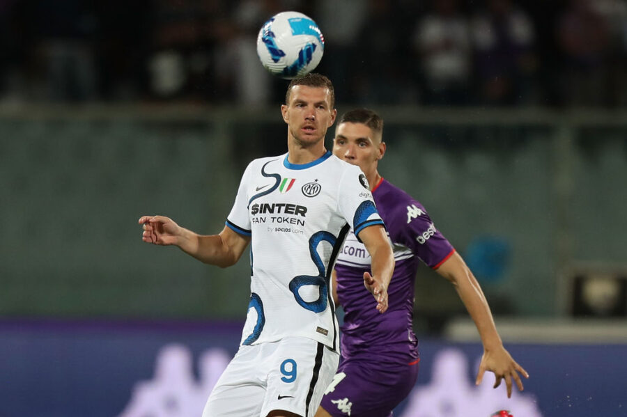 """Dzeko: """"Inzaghi mi voleva togliere prima del gol? Gli chiedo se aveva bevuto! Lautaro è fortissimo"""""""