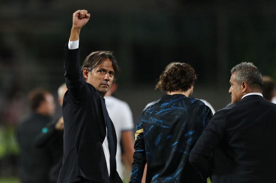 """Inzaghi: """"Dzeko? È andata così per il cambio… mancato! Sanchez, Darmian e i piazzati…"""""""