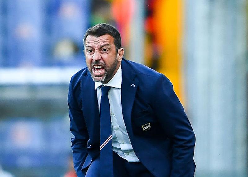 Samp, D'Aversa lascia l'allenamento e va a Milano: incontro con l'insoddisfatto Ferrero