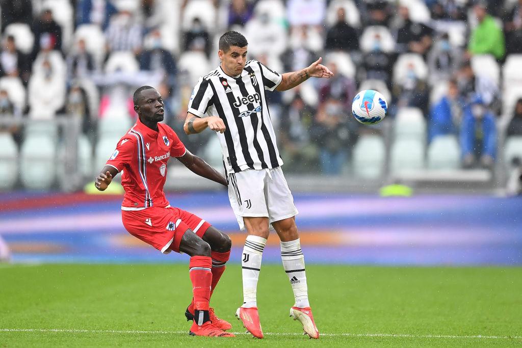 Juve, non solo Dybala: contro la Samp si è infortunato anche Alvaro Morata