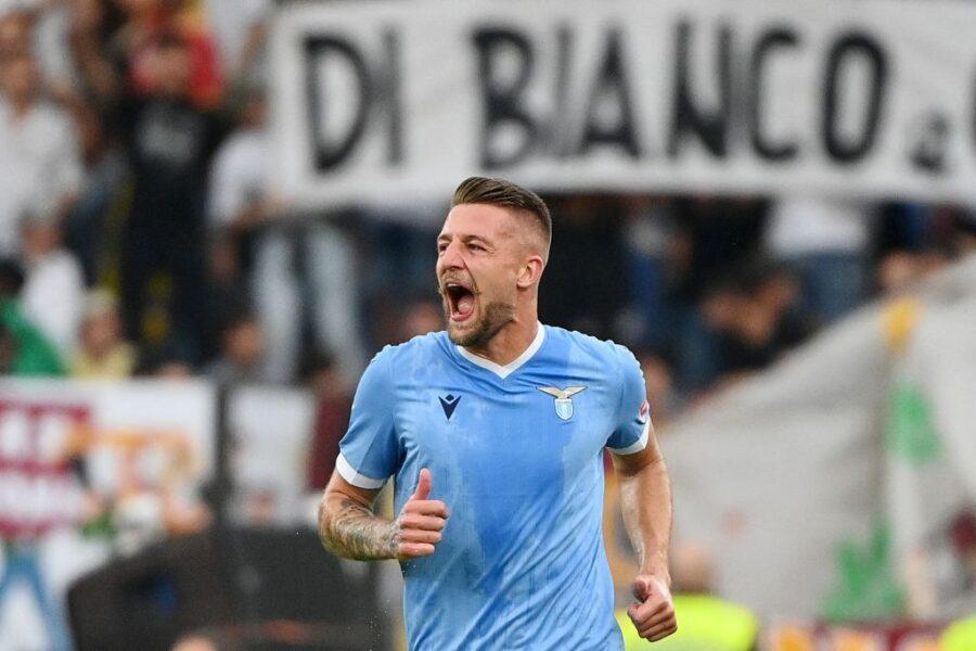 """Milinkovic: """"Mi piace fare gol nel derby, ne farò ancora! È uno dei più importanti"""""""