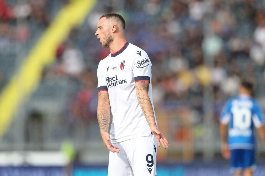 Bologna, infortunio per Marko Arnautovic: c'è lo stop alla coscia contro la Lazio