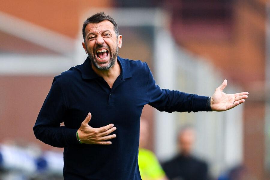 """D'Aversa: """"Stuzzico Candreva per i gol, lo voglio da record! E Quagliarella…"""""""